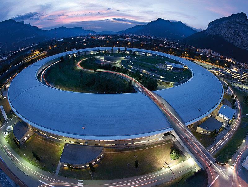 The beamline at EMBL Grenoble