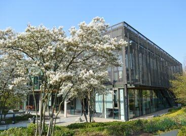 EMBL-EBI Hinxton building