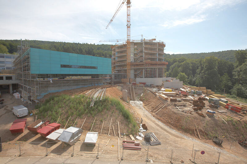 Construction of the EMBL Advanced Training Centre