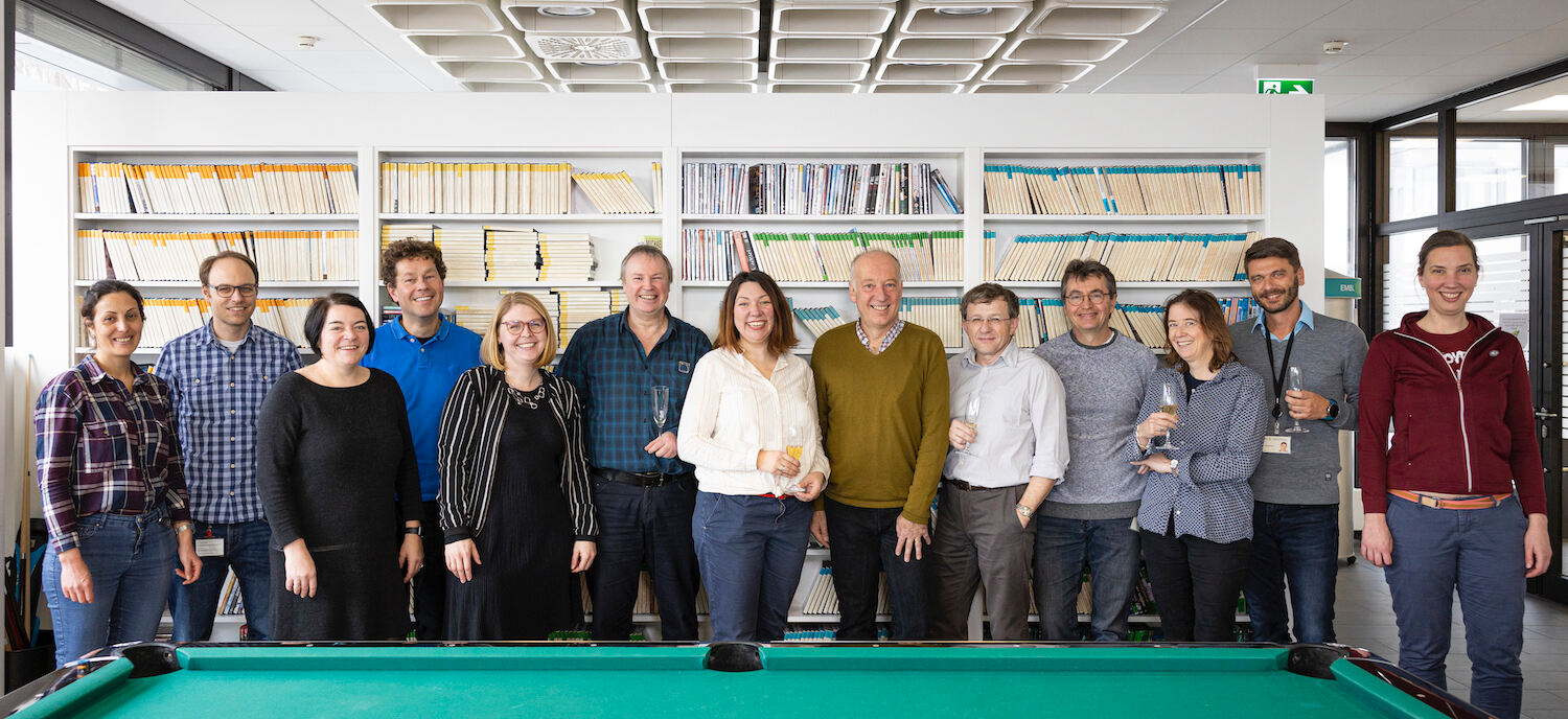 The ARISE programme team