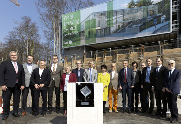 foundation stone laying ceremony for the EMBL Imaging Centre